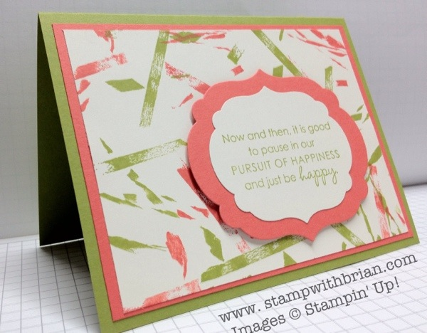 stampwithbrian.com - rubberband background technique