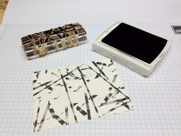 stampwithbrian.com - rubberband technique supplies