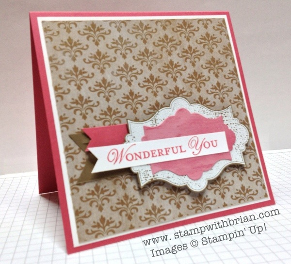 Natural Compostion, Everything Eleanor, Loving Thoughts, Stampin' Up!, Brian King