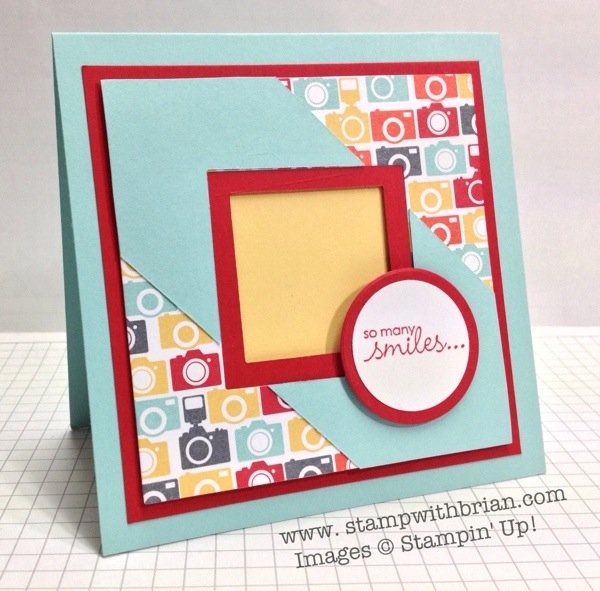 Petite Pairs, I Am Me, Stampin' Up!, Brian King, PP161