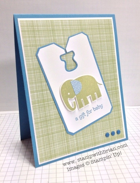 Zoo Babies, Stampin' Up!, Brian King