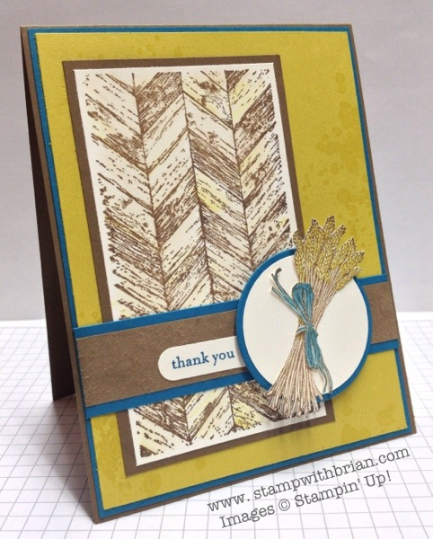 Truly Grateful, Teeny Tiny Wishes, Stampin' Up!, Brian King