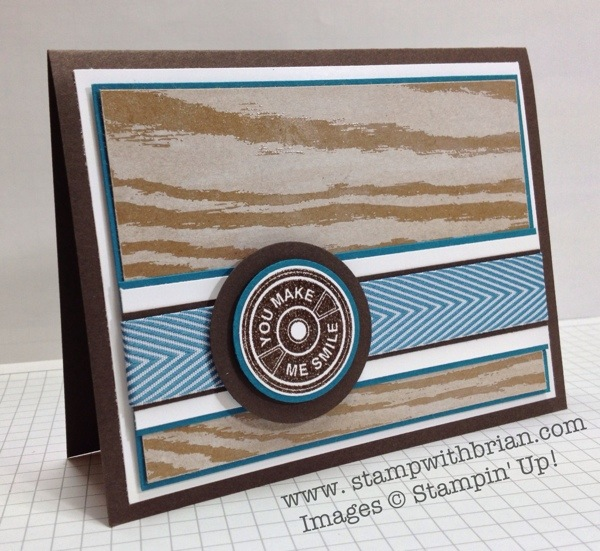 Notable Notions, Stampin' Up!, Brian King