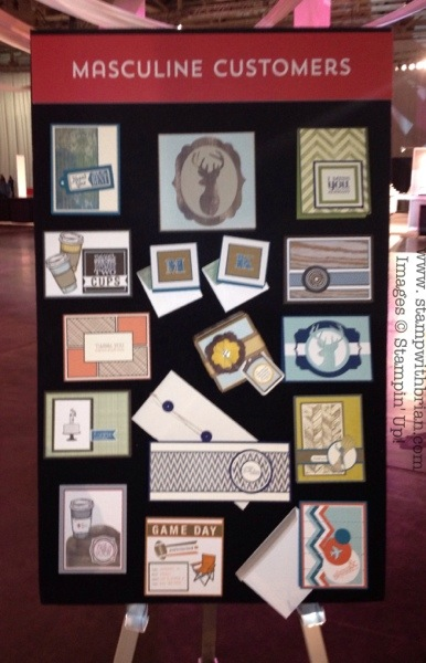 Brian King, Stampin' Up! Display Board Projects