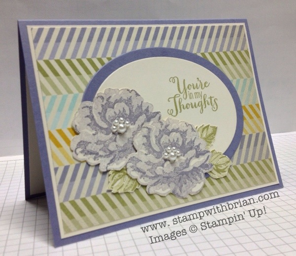 Stippled Blossoms, Best of Greetings, Stampin' Up!, Brian King