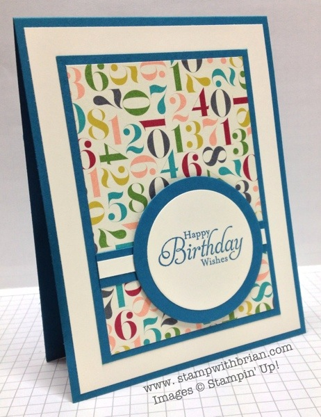 Simply Sketched (hostess set), Stampin' Up!, Brian King