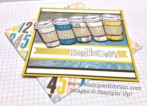 Perfect Blend, Bring on the Cake,ABC-123 Alphabet & Numbers,Stampin' Up!, Brian King