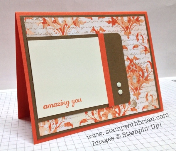 Express Yourself (hostess), Stampin' Up!, Brian King, FMS103