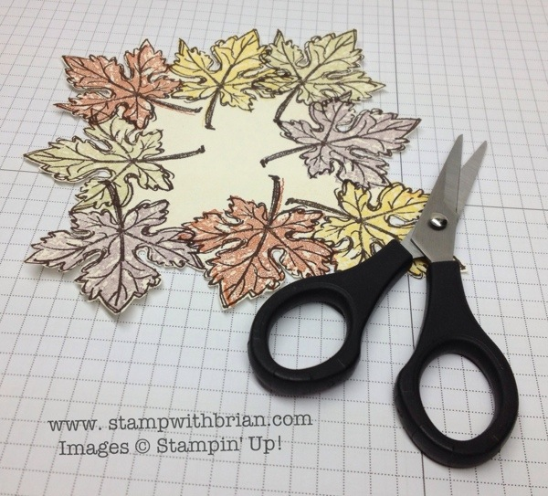 Gently Falling, Stampin' Up!, Brian King
