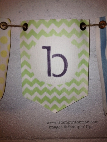 Build a Banner Simply Created Kit, Stampin' Up!, Brian King