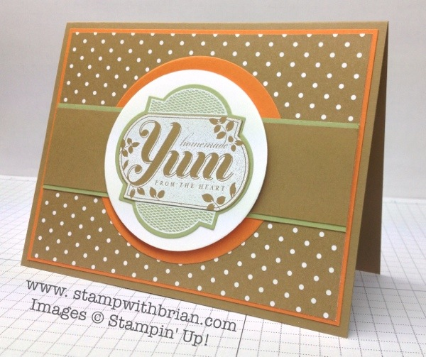 Friendship Preserves, Stampin' Up!, Brian King, PPA174, FMS106