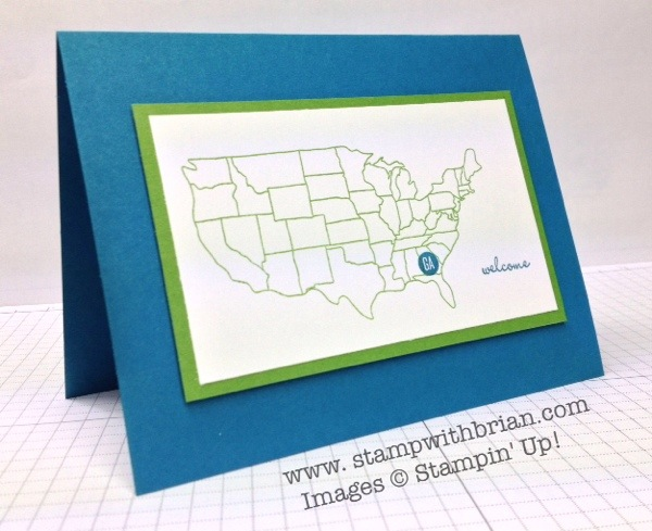Map It Out Photopolymer, Stampin' Up!, Brian King