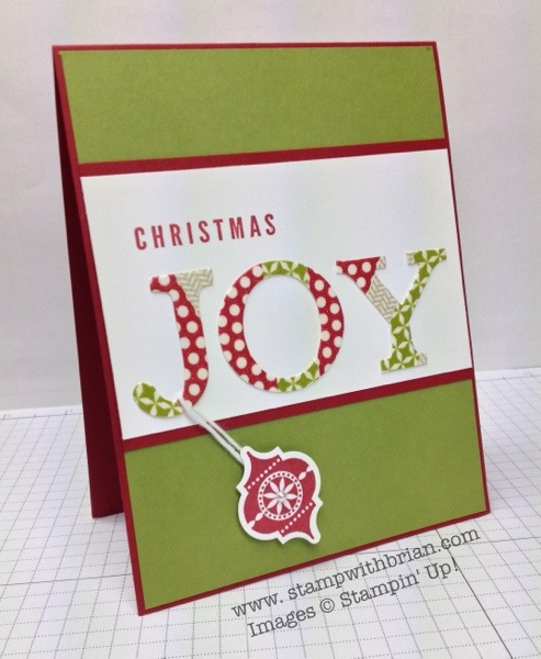 A Banner Christmas, Very Merry Tags, Stampin' Up!, Brian King