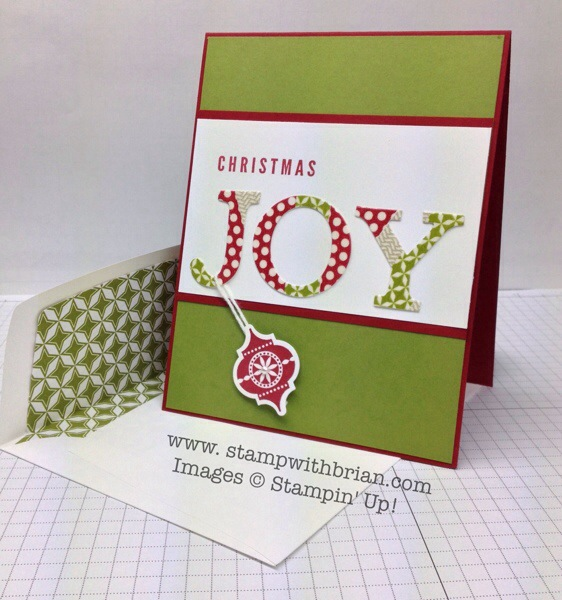 A Christmas Banner, Very Merry Tags, Stampin' Up!, Brian King
