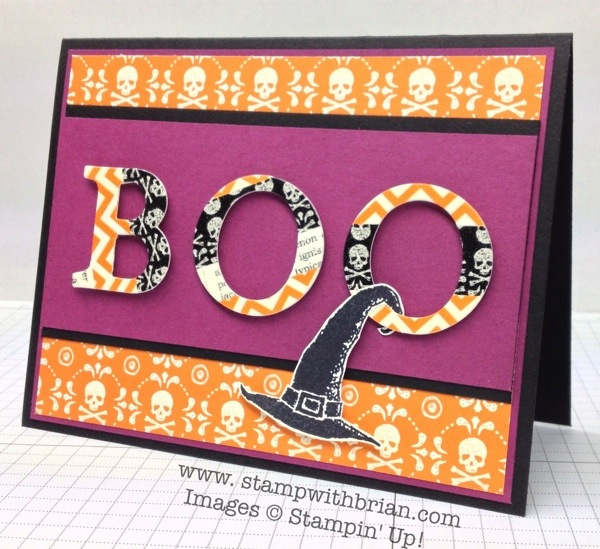 Best of Halloween, Stampin' Up!, Brian King