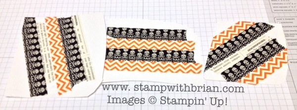 Washi Tape Letters, Stampin' Up!, Brian King