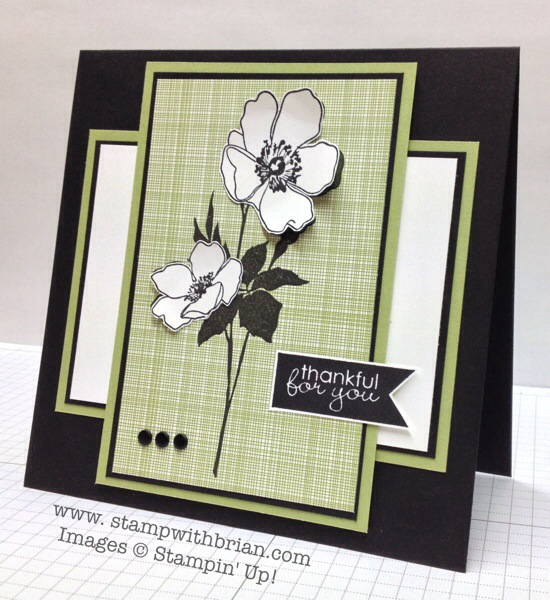 Fabulous Florets, Banner Greetings (Hostess), Stampin' Up!, Brian King, FMS109
