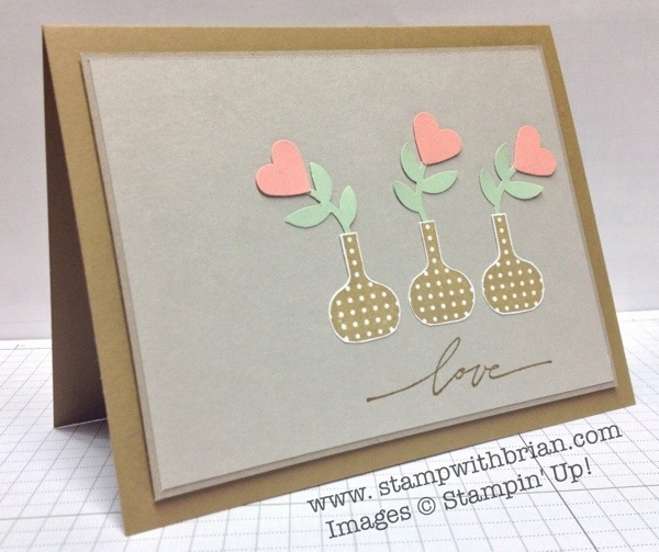Bright Blossoms, Best of Love, Stampin' Up!, Brian King