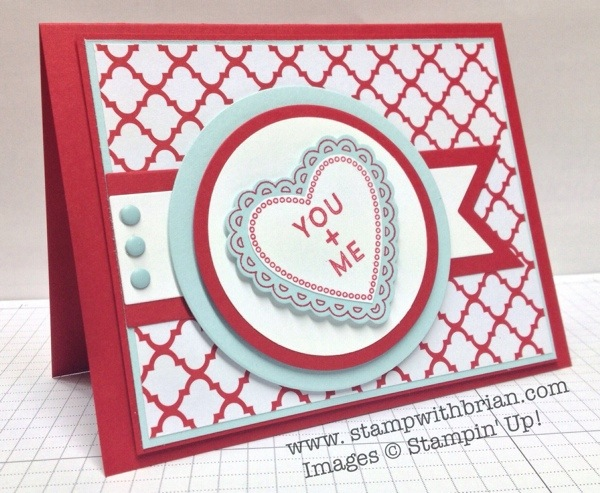 Hearts a Flutter, Hip Notes, Stampin' Up!, Brian King, PPA187