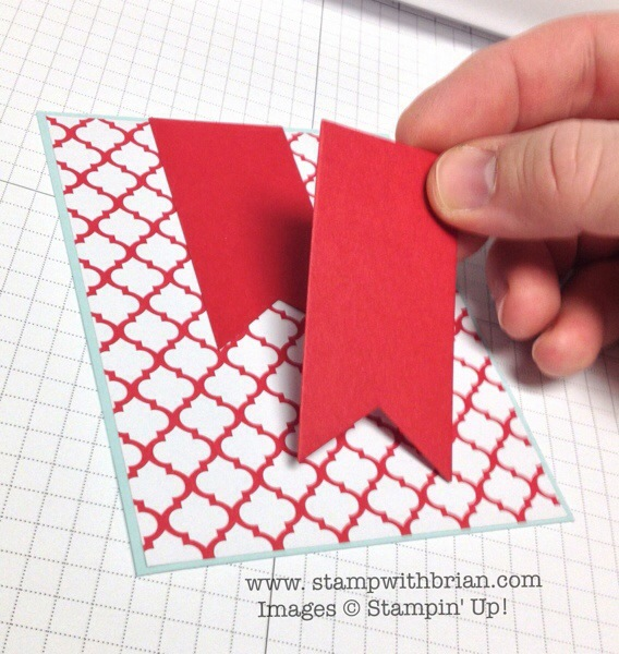 Creating an extended banner, Stampin' Up!, Brian King