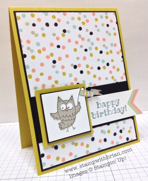 So Very Happy, Stampin' Up!, Brian King