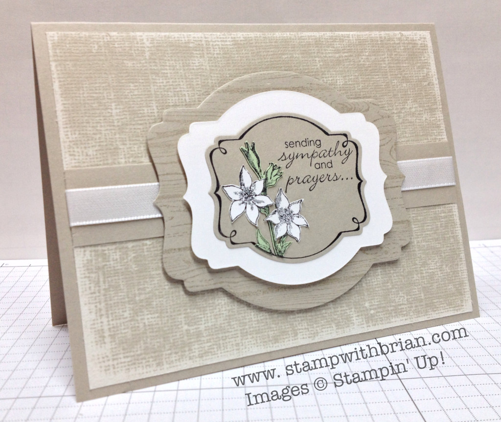 You're Lovely, Petite Pairs, Stampin' Up!, Brian King