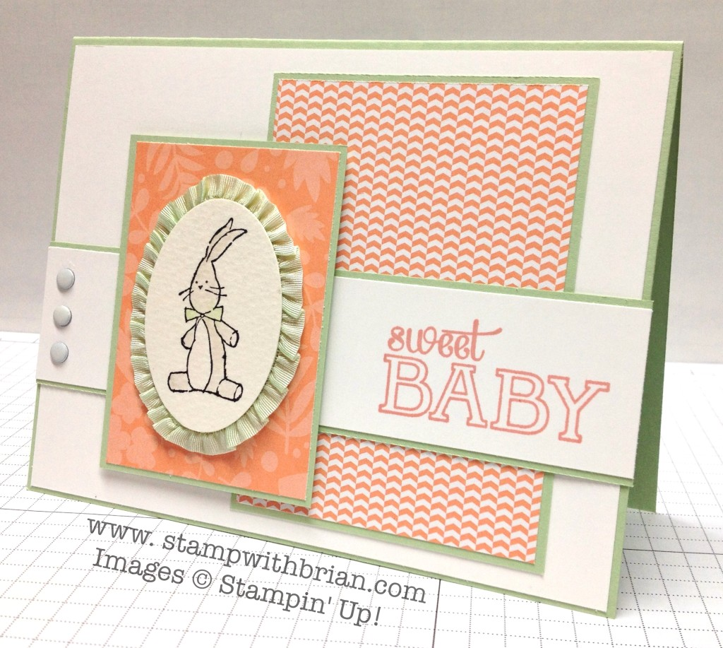 Baby We've Grown, Stampin' Up!, Brian King, PPA189