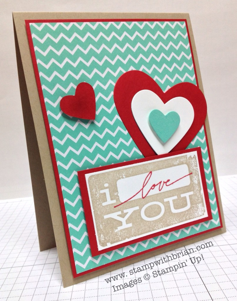 Dude You're Welcome, Best of Love, Stampin' Up!, Brian King, FabFri34, FMS121