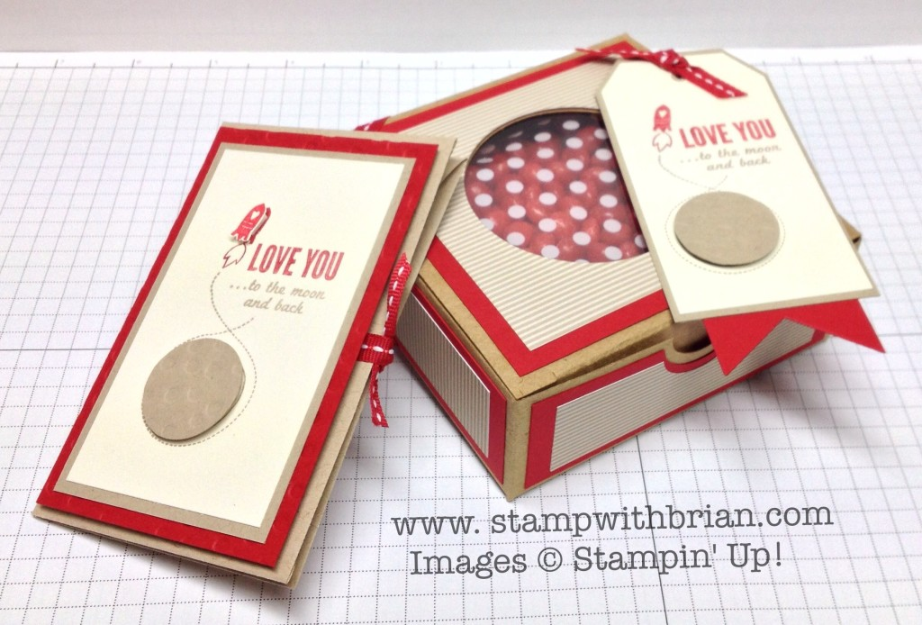 Love You to the Moon, Stampin' Up!, Brian King, PP181