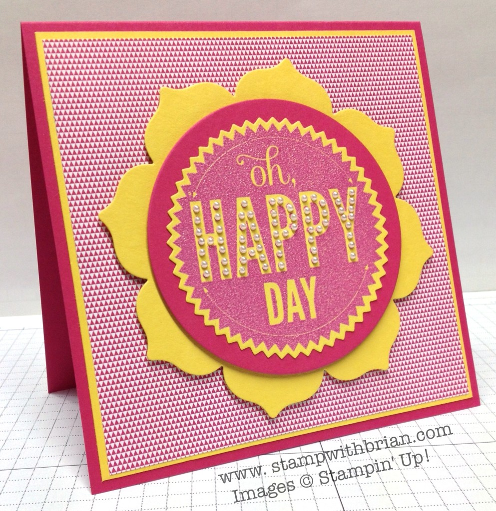 Starburst Sayings, Stampin' Up!, Brian King