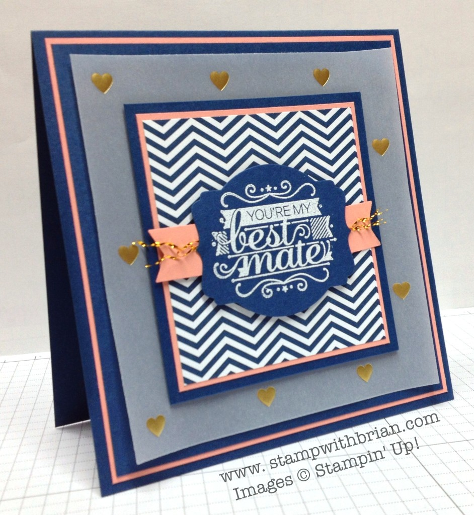 Hello Sailor, Stampin' Up!, Brian King, PP182