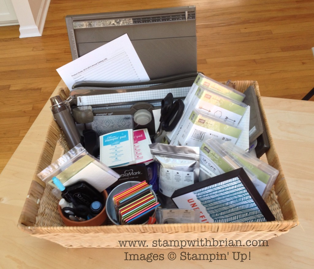 Tools of the Trade Workshop, Stampin' Up!, Brian King