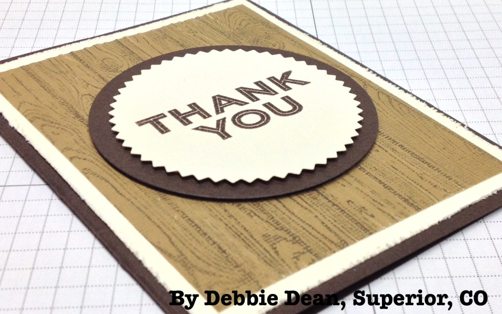 Simply Celebrate, Hardwood, Stampin' Up!, by Debbie Dean