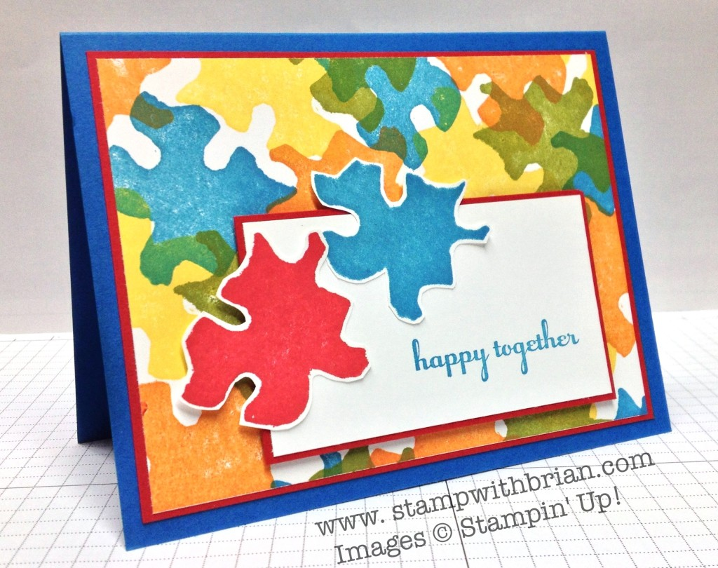 Stampin' Up! Undefined, A Dozen Thoughts, stamp carving, Brian King