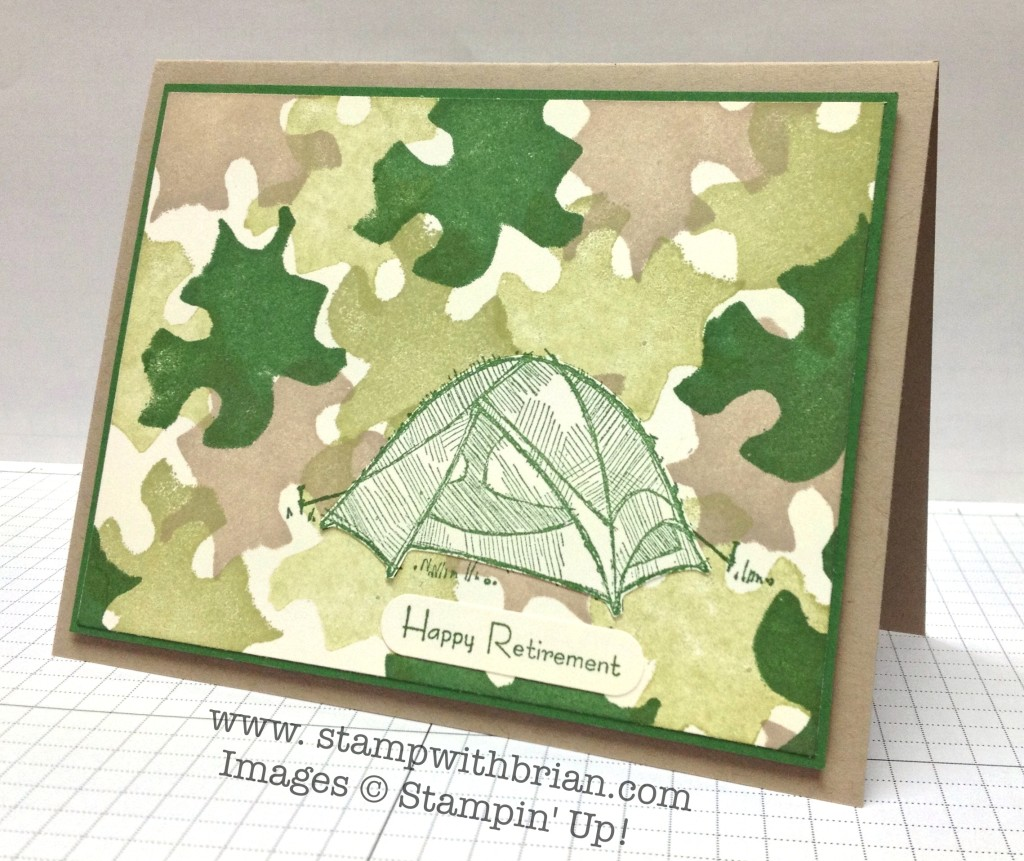 Stampin' Up! Undefined, The Great Outdoors, Teeny Tiny Wishes, Brian King