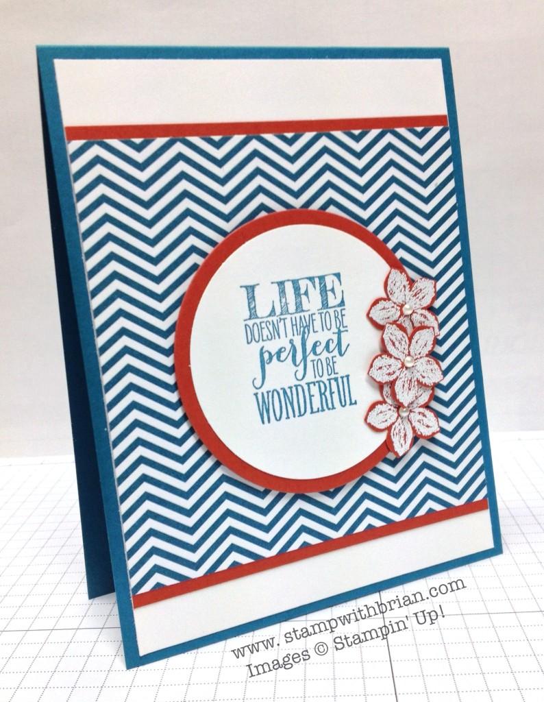 Perfect Pennants, Petite Petals, Stampin' Up!, Brian King, MOJO336