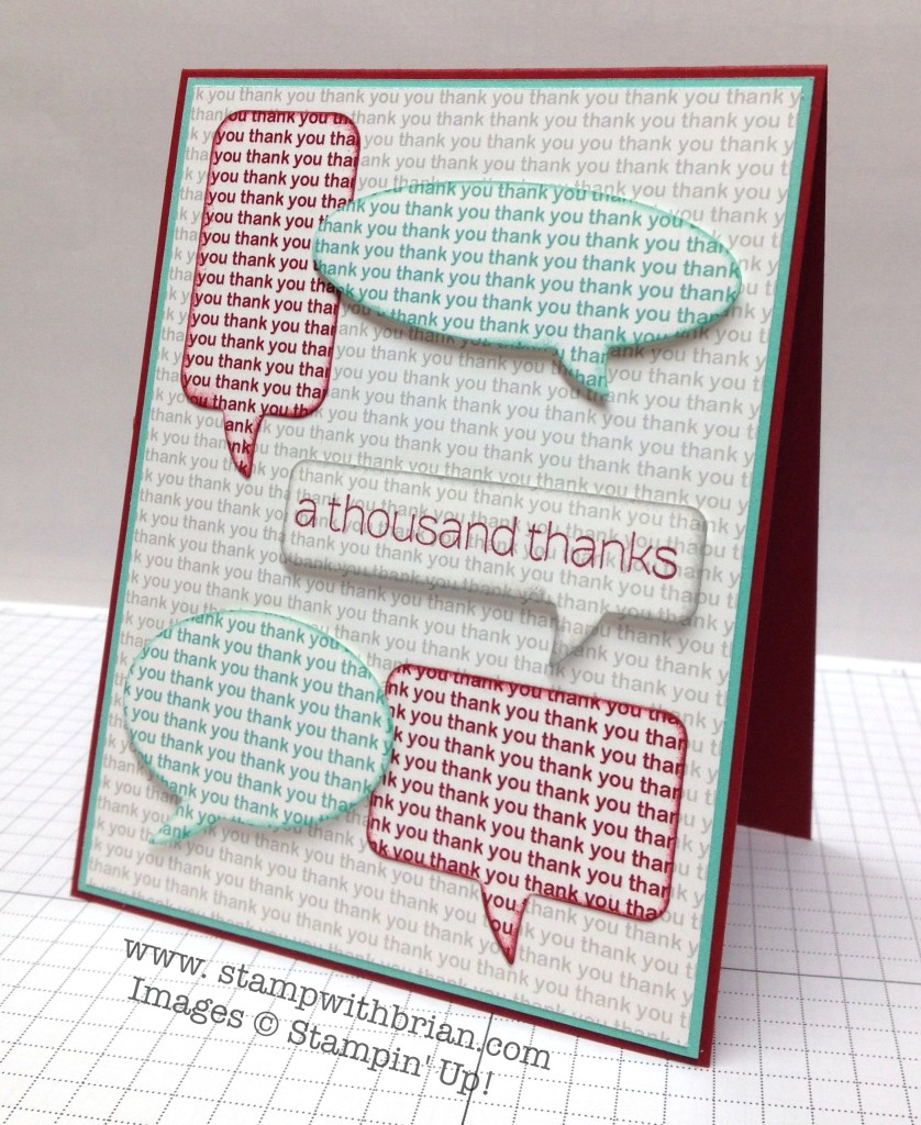 Lots of Thanks, Stampin' Up!, Brian King, FabFri37
