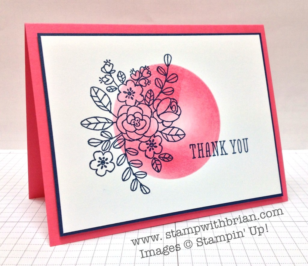 So Very Grateful, Stampin' Up!, Brian King