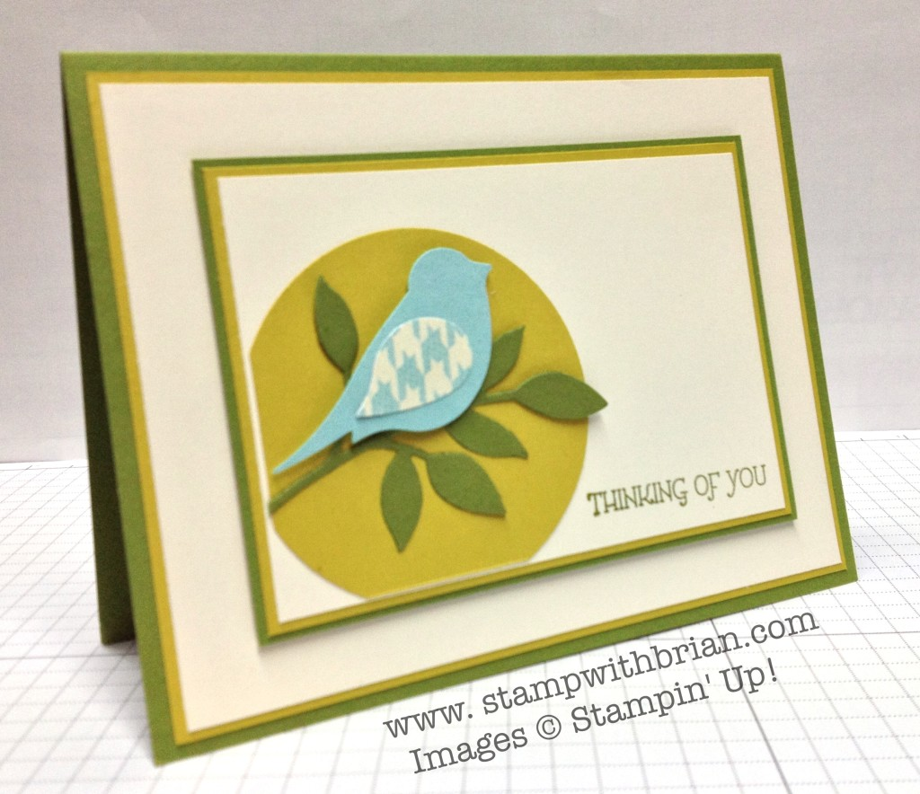 Gifts of Kindness, Stampin' Up!, Brian King, PPA198