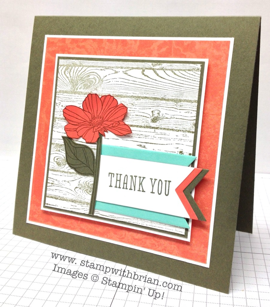 Peaceful Petals, So Very Grateful, Hardwood, Stampin' Up!, Brian King, PP191