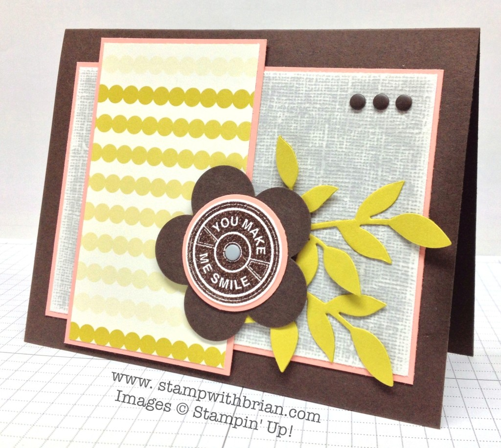 Notable Notions, Stampin' Up!, Brian King, FabFri40