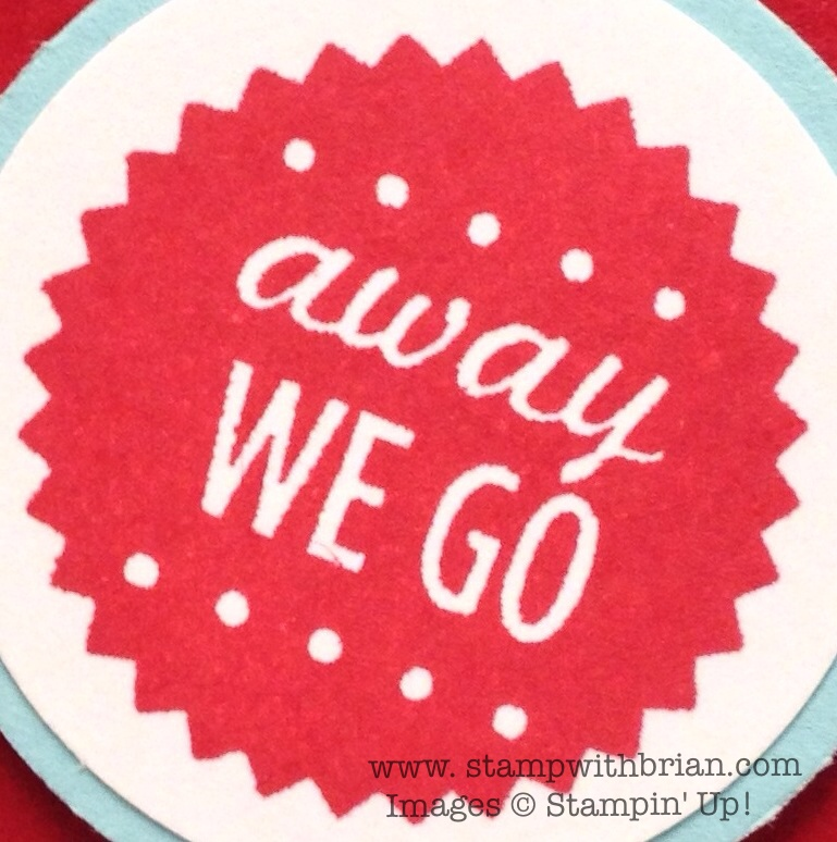 Yippee! Away We Go! – STAMP WITH BRIAN