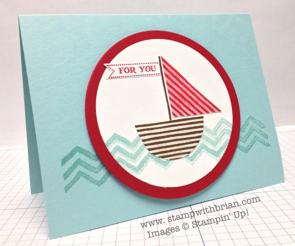 What's Your Type?, Work of Art, Itty Bitty Banners, Stampin' Up!, Brian King