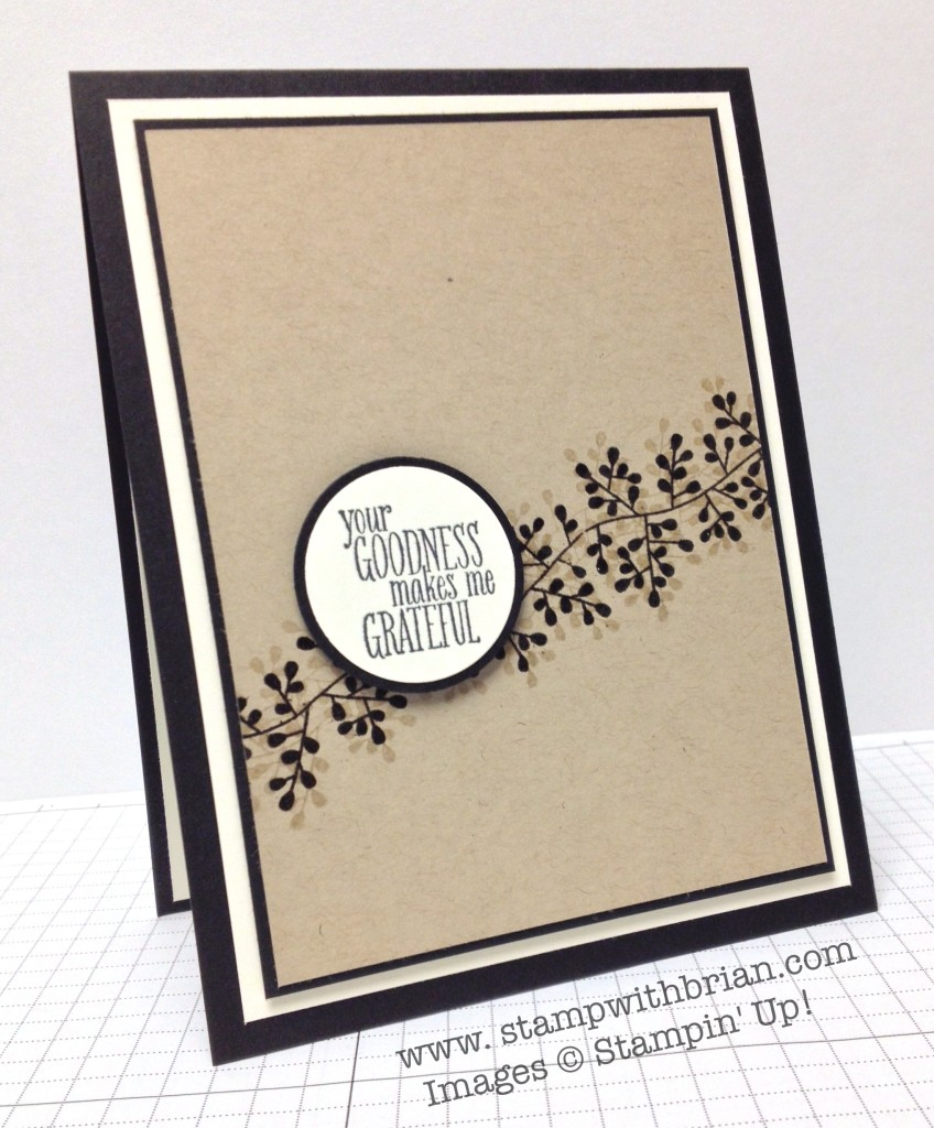 Bordering Blooms, Something to Say, Stampin' Up!, Brian King, FMS140