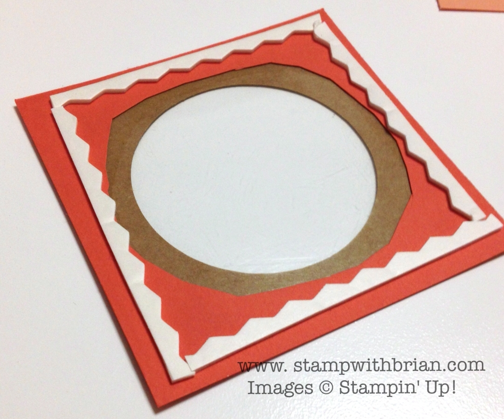 Building a Shaker Card, Stampin' Up!, Brian King