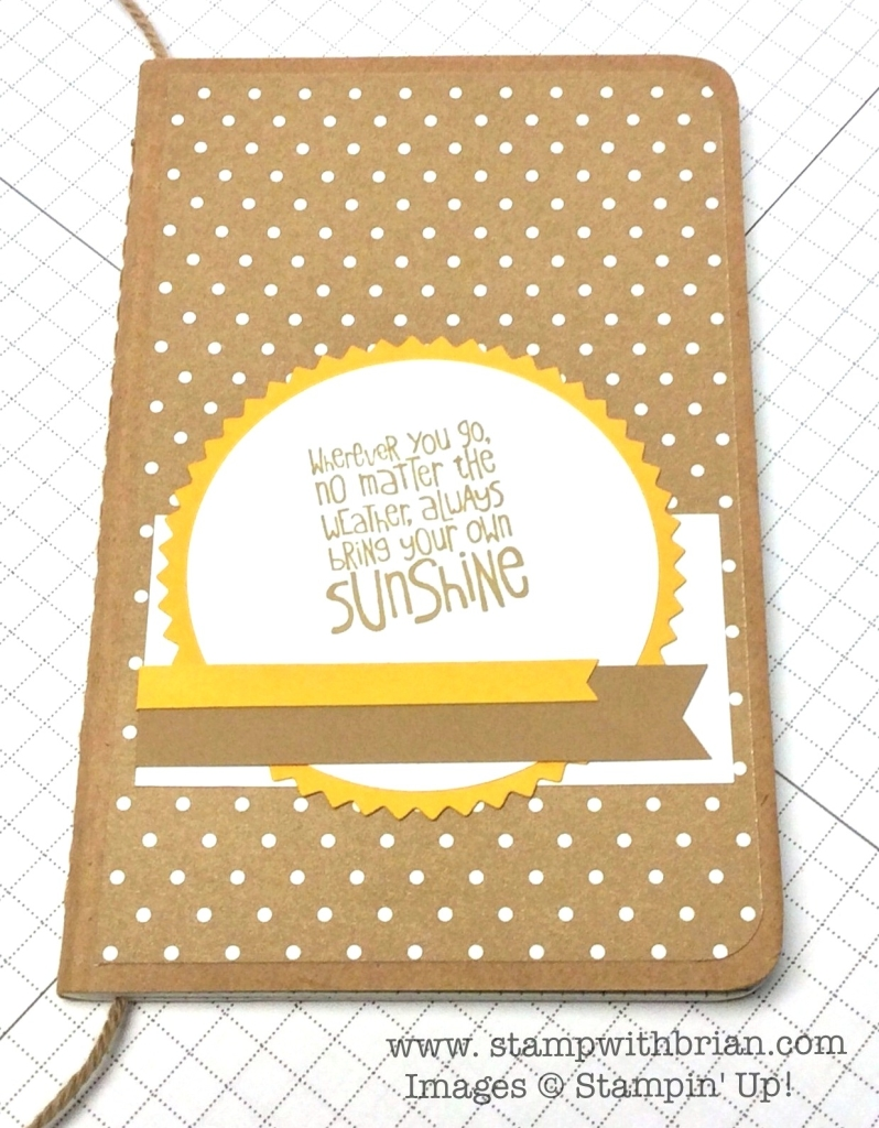 Ray of Sunshine, Stampin' Up!, Brian King, FMS143