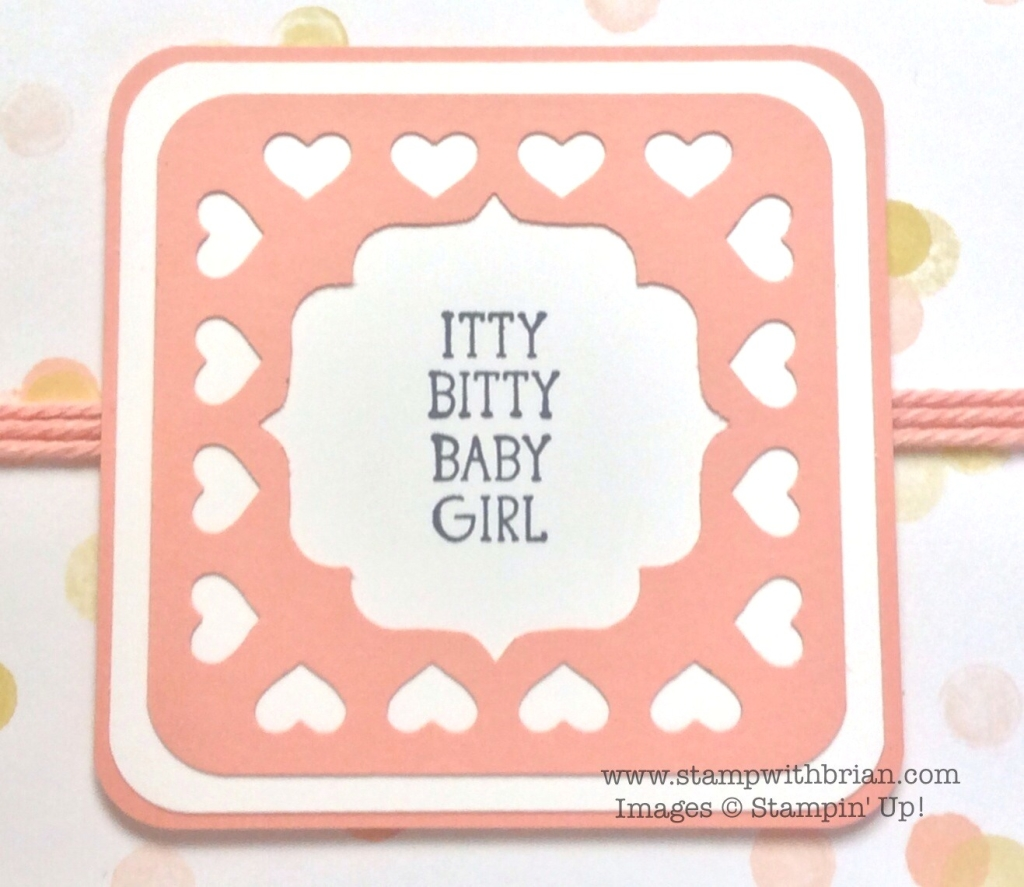 Itty Bitty Baby, Stampin' Up!, Brian King