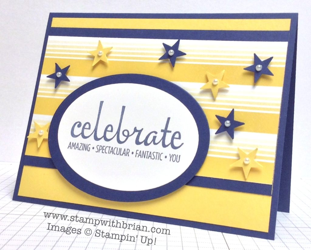 Fabulous Four, Stampin' Up!, Brian King, PPA211