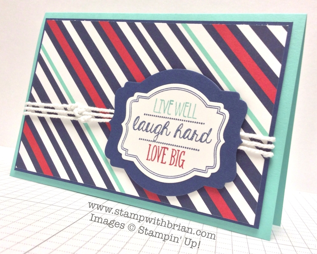Oh My Goodies, Stampin' Up!, Brian King, CCMC310, PP203