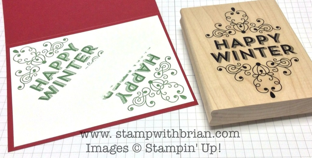 Wintertime, Stampin' Up!, Brian King, PPA213